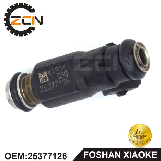 China Car Engine Fuel Injector Nozzle For 25377126 China Fuel