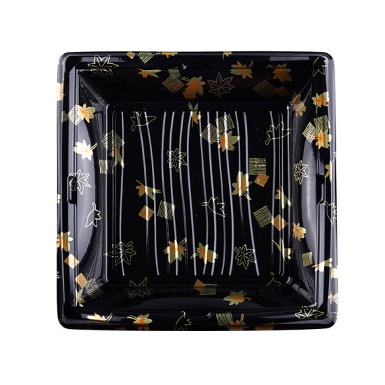 Customized Printing Wholesale Disposable Plastic Food Sushi Box Container Packaging