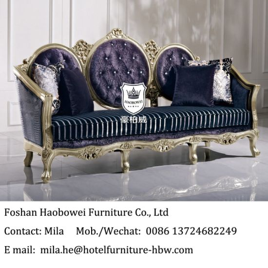 Middle East Gorgeous Royal Furniture Sofa Set Used In Hotel Lobby Pictures Photos