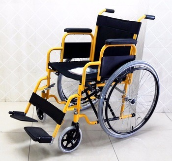 Detachable Footrest Foldable Wheelchair Standard Lightweight Best Seller in Europe pictures & photos