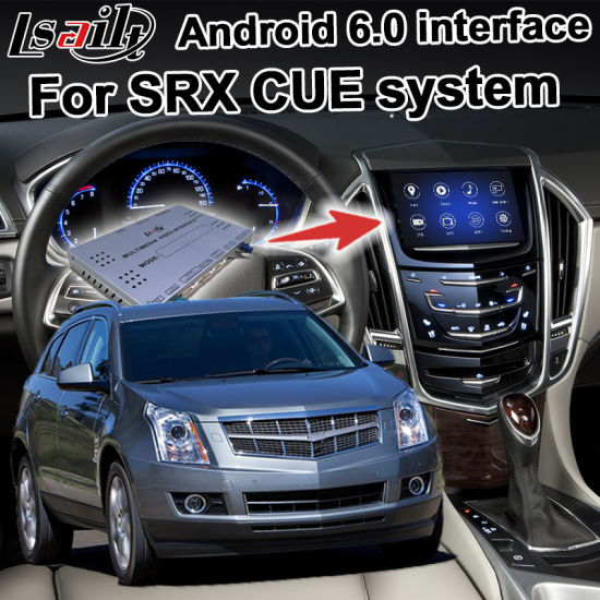 China Android 6 0 GPS Navigation System Box for Cadillac Srx
