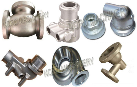 Stainless Steel Casting Parts with Material 304, 316, 17-4, CF8m