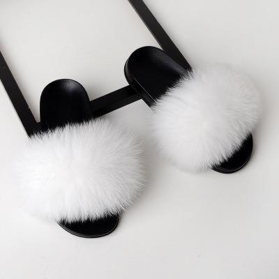 9ba3ef368725 China Ladies Fur Slide Sandals Slippers