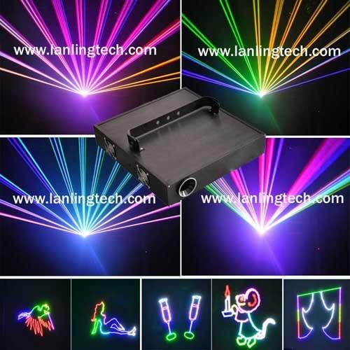 2 Watt RGB Laser Disco Light (L2456RGB)