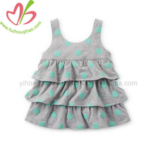 fd8f62db2fcf China Colorful Ruffle Vest Dress for Baby Girl - China Baby Skirt ...