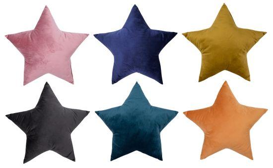 Star Velvet Sofa Cushions / Color Gift Pillows Home Decorative Cushions