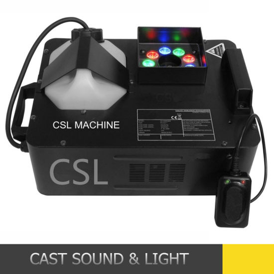 1500W LED Portable Fog Smoke Machine for Wedding Disco Party pictures & photos