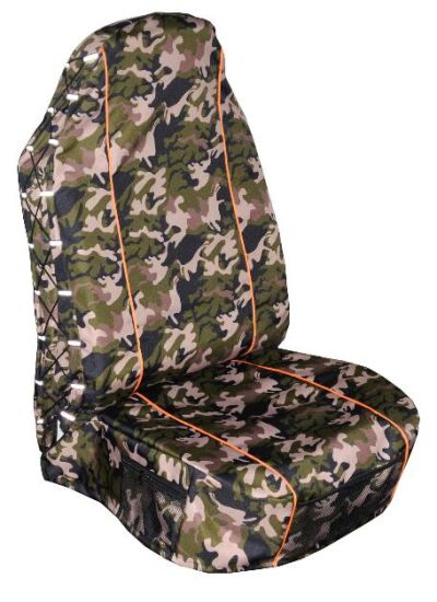 Universal Camouflage Oxford Waterproof Off Road Vehicle Car Seat Cover