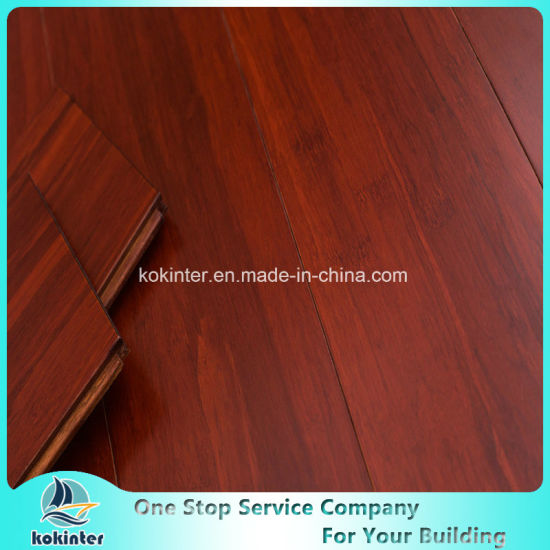 First Qualtiy Fortune Red (Satin color) Indoor Usage Strand Woven Bamboo Flooring Cheapest Price