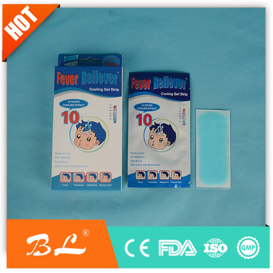 Chinese Manufacturer Cooling Gel Patch Baby Fever Pads