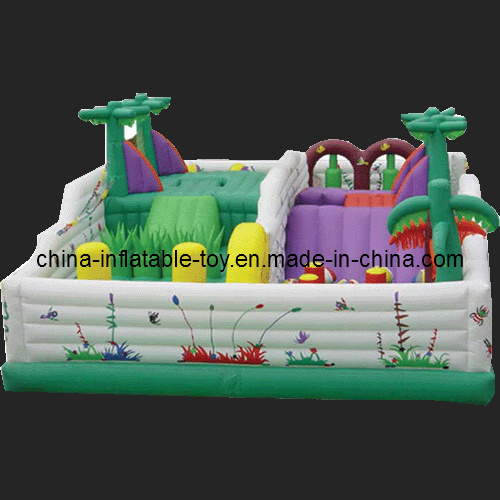 Childhood Custom Products Bouncy Castle Funland (FC-018)