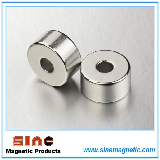 Ring Permanent Sintered Neodymium Magnet