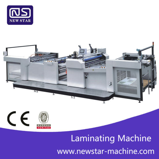 Yfma-920A/1050A Automatic Paper Thermal Film Laminating Machine Ce Standard pictures & photos