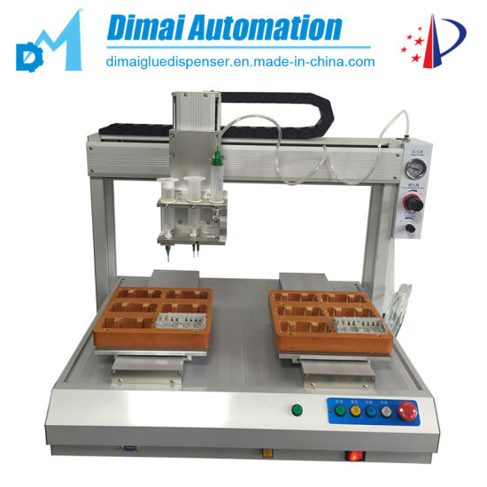 Double Station Automatic Glue Dispensing Robot