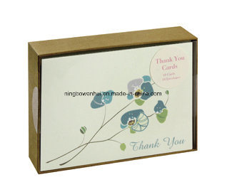 China Professional Eco Friendly Handmade Thank You Greeting Cards