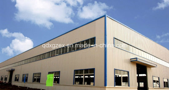 Built-up Section Steel Frame Workshop, Steel Structure Warehouse (SS-191)