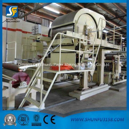 Cylinder Mould Paper Machine Digital Toilet Paper Cutting Machine