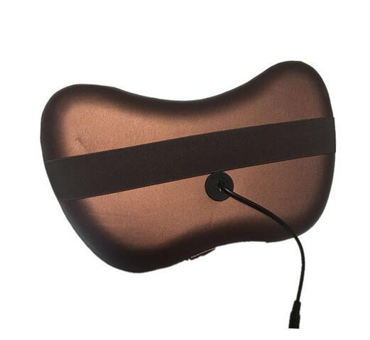 Car Headrest Massage Pillow with Heating pictures & photos