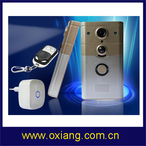 P2p Technology PIR WiFi Video Door Phone Wireless Video Doorbell Support Ios Android pictures & photos