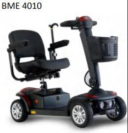 Four Wheel Mobility Scooter for Old Man Disabled Mobility Scooter