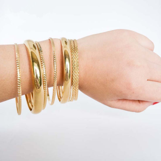 Women fashion Gold-Color Filled Multilayer Jewelry Bracelets Bangles pictures & photos