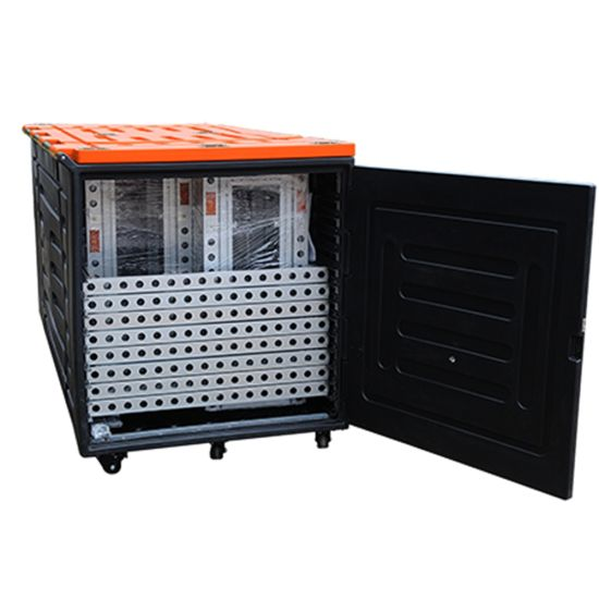 Tianyu Factory Professional Custom Air Aluminum Flight Case for Trade Show Exhibition Flight Case