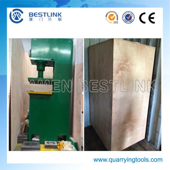 Cp90-40t-B 3 Functions 40t Power Hydraulic Stone Recycling Machine pictures & photos