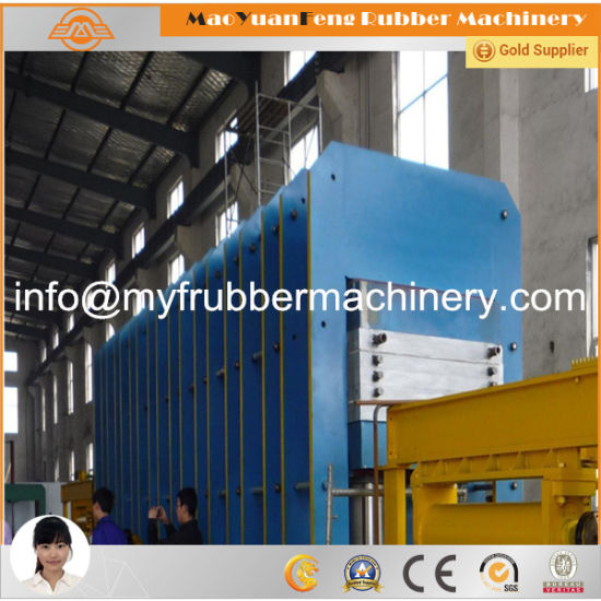 Automatic Rubber Frame Curing Press with BV, Ce, SGS Certification pictures & photos