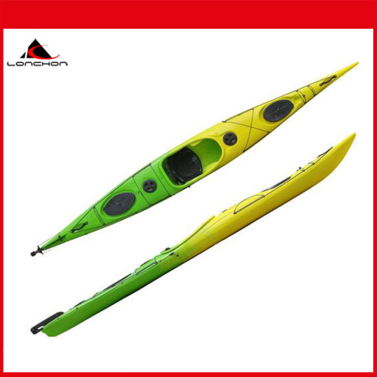 18FT New Arrival Length 560cm Three Layer Polyethylene Sea Kayak Made in China