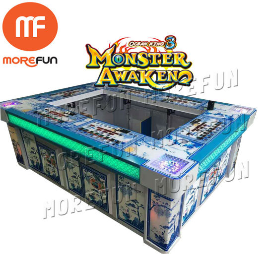 China Treasure Multi Table 3d Arcade Virtual Reality Fishing Coin