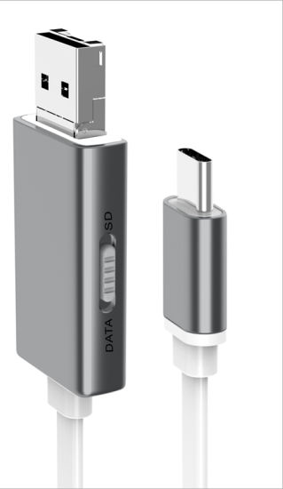 [Hot Item] OTG Car U Disk USB Cable for iPhone, Samsung