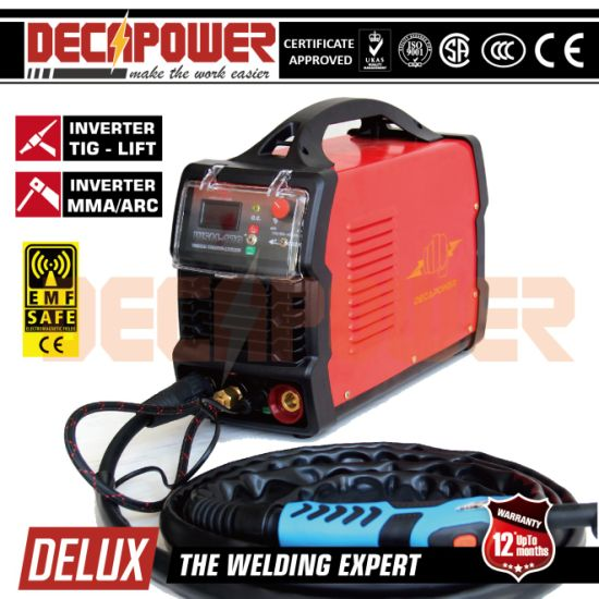 Ce Approved 160A MMA Welding Machine Inverter TIG Welder