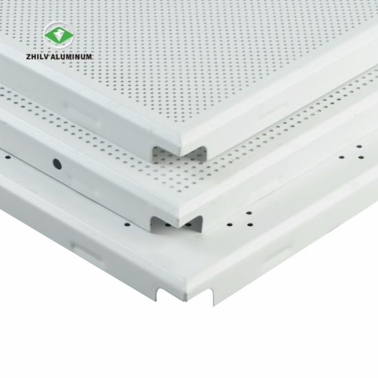 Soundproof Suspended Aluminium Acoustic Ceiling Panel For Bank