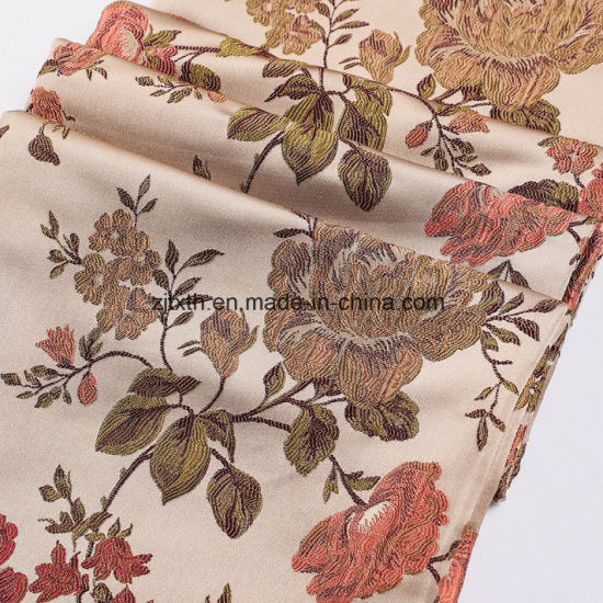 2018 Woven 100%Polyester Jacquard Fabric for Upholstery Sofa and Curtain From China Factory Direct