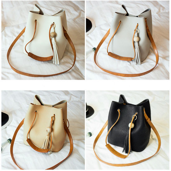 High Quality Custom Designer Fancy Color PU Leather Tote Bag Women Bucket  Bag Wholesale China 2018. Get Latest Price 1159304223be7
