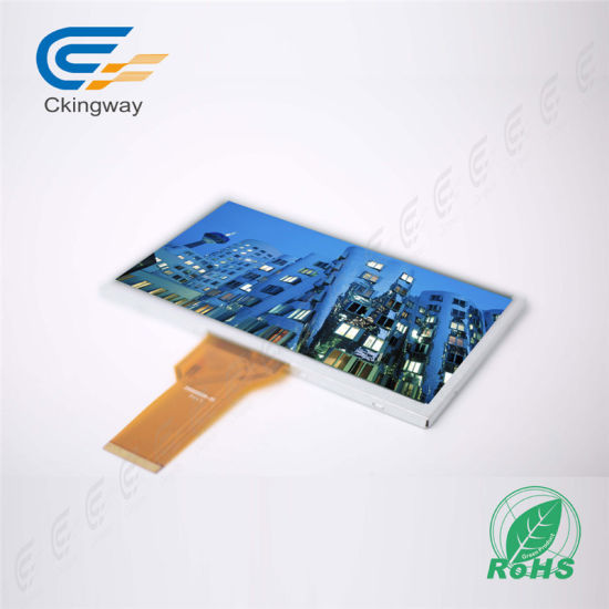 "7"" 800*480 40 Pin 380CD/M2 LCD Module pictures & photos"