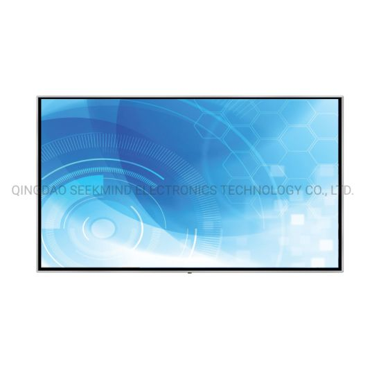 China Large Size 4K display Interactive Flat Panel for Commercial Display pictures & photos