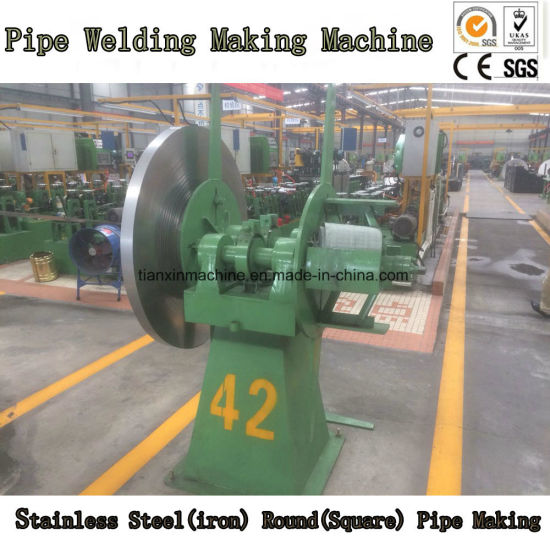 Square Round Stainless Steel Pipe Making Machine Line