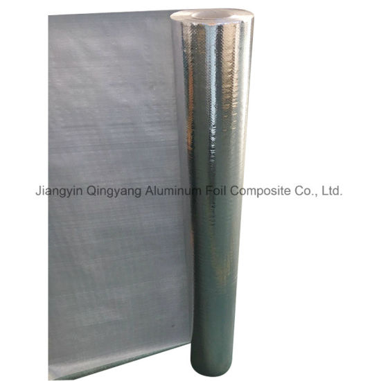 Single-Sided Reflective Aluminum Foil Woven Fabric Thermal Insulation Cloth