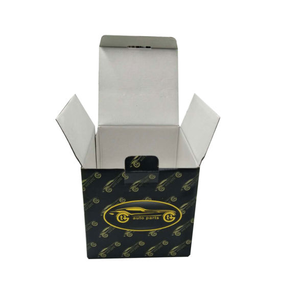 Small Packaging Box with Hot Stamping Logo Printed