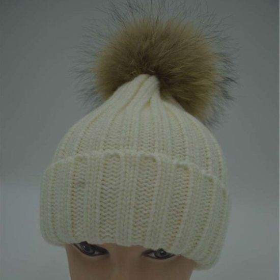 b284e0c7086a49 Animal Hood Hats with POM Ear Flaps/Bobble Ski Hat Beanie pictures & photos