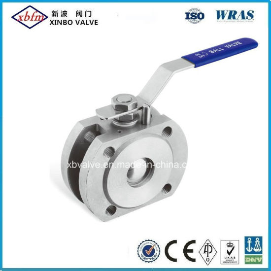 1PC Wafer Stainless Steel Ball Valve pictures & photos