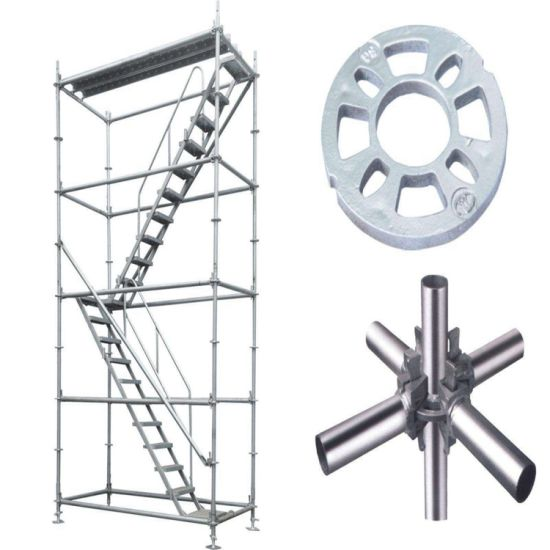 Wholesale HDG Building Material Ringlock Layher Scaffolding