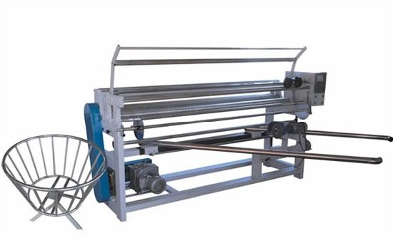 High Speed Automatic Clothes Roll Winding Machine