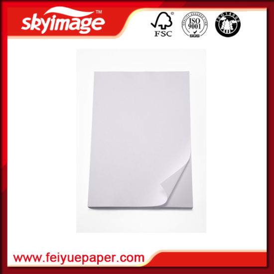 A4 Sublimation Heat Transfer Paper for Personal Gifts/ DIY/ T-Shirt Printing pictures & photos