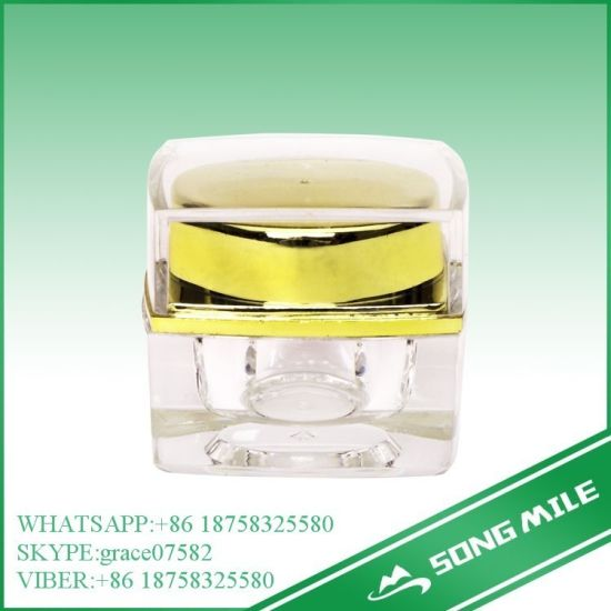 15g Acrylic Hot Sale Cream Jar for Cosmetic pictures & photos