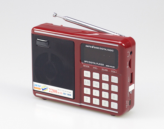 2018 Most Popular Portable Am FM Radio with Stereo Speaker pictures & photos