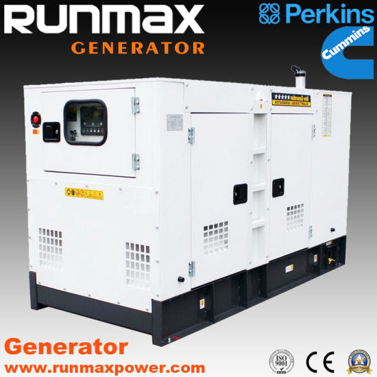 20kVA-1500kVA Soundproof Cummins Power Electric Diesel Generator (RM80C2) pictures & photos