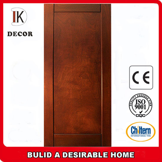 China Entry Doors Type and Finished Surface Finishing Wooden Door ...
