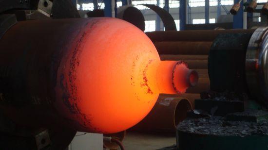 CNG Gas Cylinder Bottom Pressing Machine